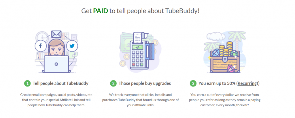Tube Buddy Affiliate program