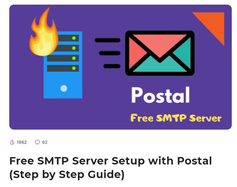 postal smtp guide