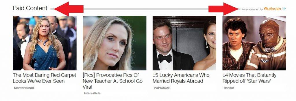example of native ads in CNN's paid content section